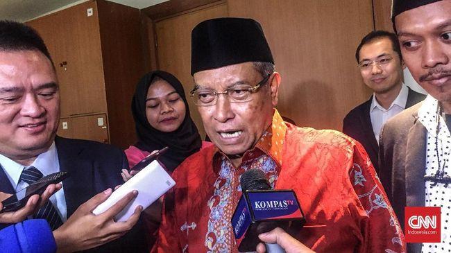 Ketua Umum PBNU Said Aqil menolak mencabut pernyataannya yang menyebut bahwa imam masjid maupun khatib selain NU salah semua.