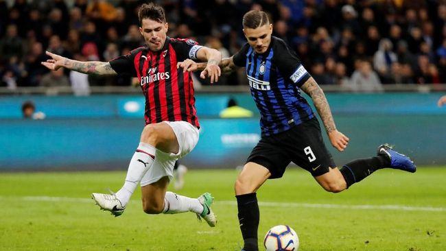 Inter Milan menang 1-0 atas AC Milan dalam Derby Milan di Stadion Giuseppe Meazza pada lanjutan kompetisi Liga Italia Serie A, Senin (22/10) dini hari WIB.