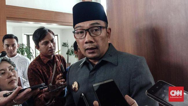 Gubernur Jabar Ridwan Kamil menceritakan kepada Wapres Ma'ruf Amin ihwal bahaya mudik terhadap penyebaran virus corona.