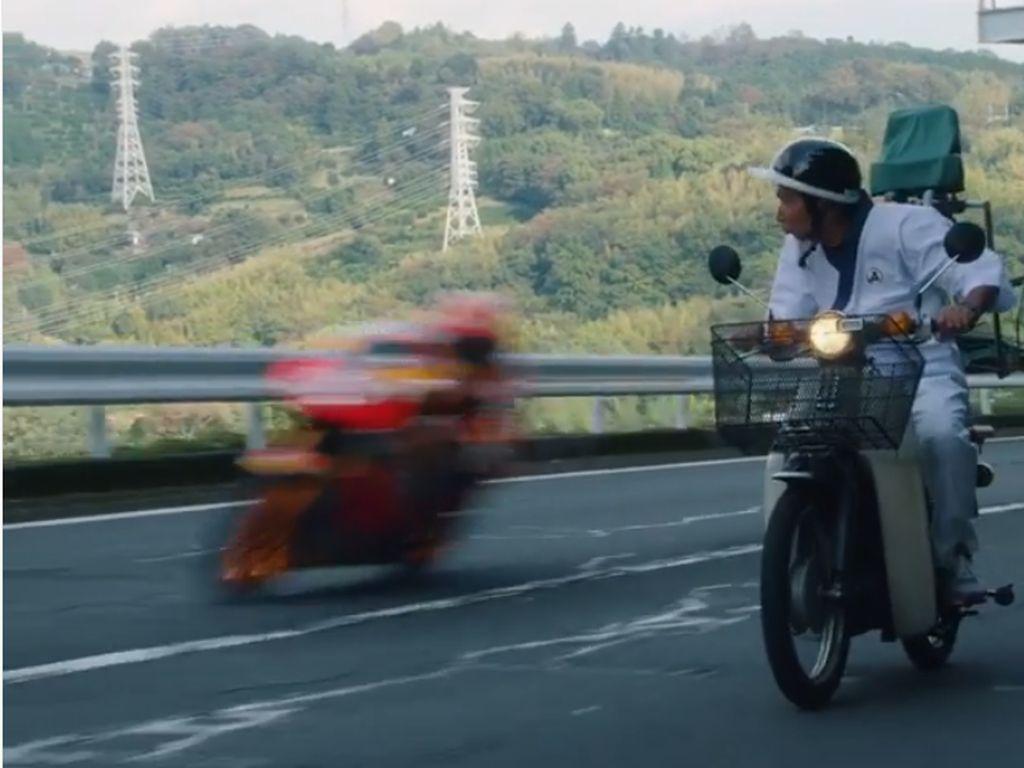 Ngebut di Jalan Raya, Marc Marquez Bikin Orang Jepang Bengong