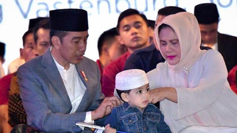 Lucunya Jan Ethes Temani Jokowi Peringati Hari Santri Nasional
