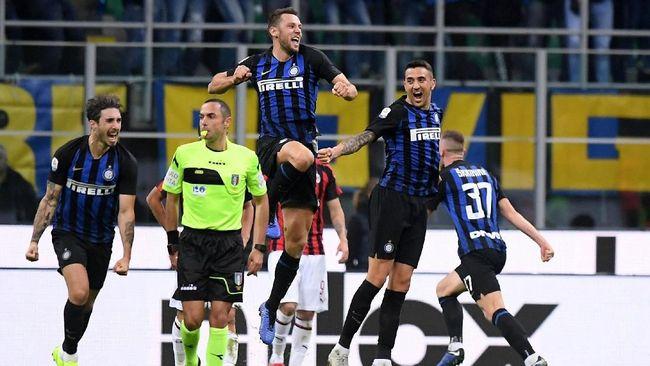 Berikut enam fakta menarik Internazionale Milan melawan AC Milan yang berlangsung pada pekan kesembilan Liga Italia 2018/2019 di Stadion Giuseppe Meazza.