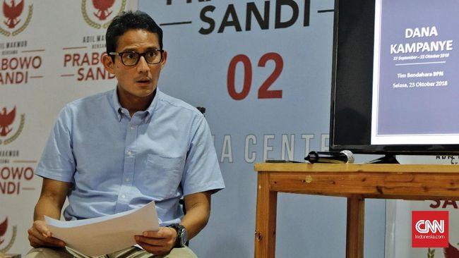 Calon Wakil Presiden Sandiaga Uno kembali menjual 17,05 juta sahamnya pada PT Saratoga Investama Sedaya Tbk.