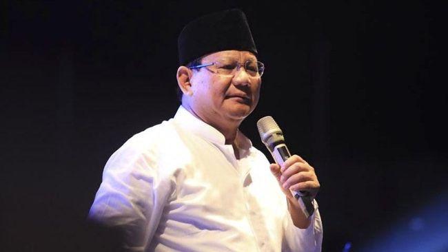 Calon presiden nomor urut 02, Prabowo Subianto mengajak masyarakat tidak terprovokasi hasutan dan kabar bohong atau hoaks.