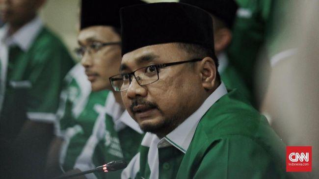 Ketua Umum GP Ansor Yaqut Cholil Qoumas meminta maaf atas kegaduhan yang terjadi akibat pembakaran bendera, dan berharap masyarakat menurunkan tensi.