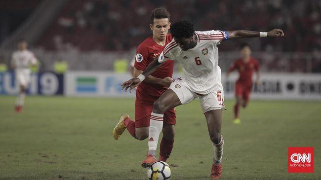 Timnas Indonesia U-23 untuk sementara mampu bermain imbang 1-1 lawan Arab Saudi pada babak pertama CFA International Tournament 2019, Selasa (15/10).