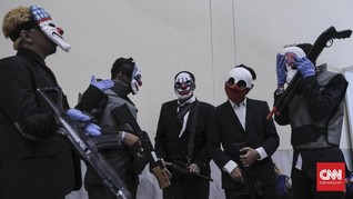 Pahit Manis para Fanatik Gim dan Komik di Comic Con Indonesia