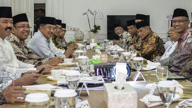 Wakil Ketua Umum MUI Zainut Tauhid Saadi mengamini pertemuan berjalan alot sebelum menghasilkan 5 keputusan yang dibacakan JK di akhir pertemuan.
