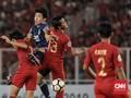 Timnas Indonesia U-19 Tertinggal 0-1 dari Jepang di Babak I