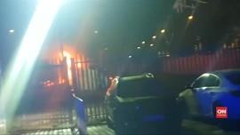 VIDEO: Detik-detik Helikopter Pemilik Leicester City Jatuh