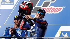FOTO: Vinales Akhiri Rekor Buruk Yamaha di MotoGP Australia