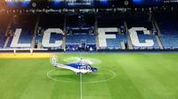 Mengerikan! Detik-detik Jatuhnya Helikopter Bos Leicester City
