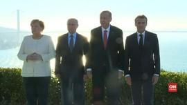 VIDEO: Empat Pemimpin Eropa Dorong Gencatan Senjata Suriah