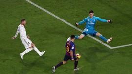 FOTO: Pesta Gol Barcelona ke Gawang Real Madrid