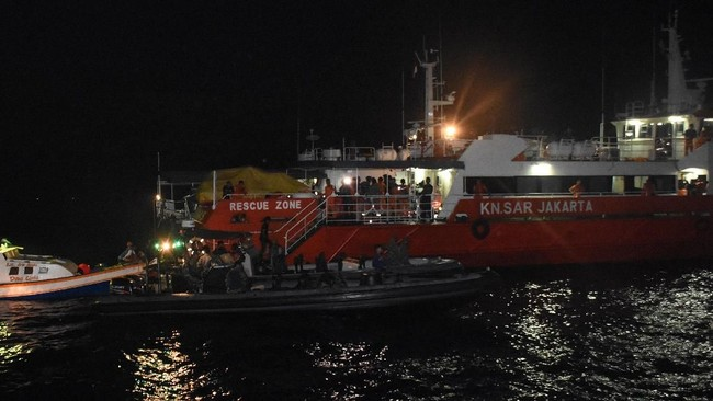 Basarnas Kerahkan KN SAR Wisnu Cari Kapal Selam TNI AL