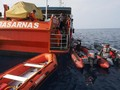 Tim SAR Gabungan Terjunkan 34 Kapal Cari JT-610 Hari Ini