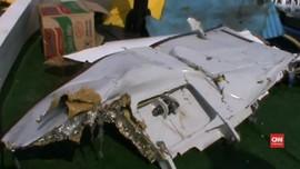 VIDEO: Benda Diduga Bagian Sayap Lion Air JT-610 Ditemukan