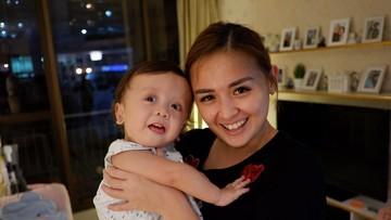 Alasan Joanna Alexandra Terbuka Ceritakan Penyakit Langka Anaknya