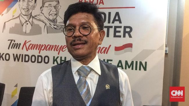 Wakil Ketua TKN Jokowi-Ma'ruf, Johnny G Plate berharap pertemuan JK-Prabowo bisa menandakan semua pihak tetap berpegang pada proses demokrasi.
