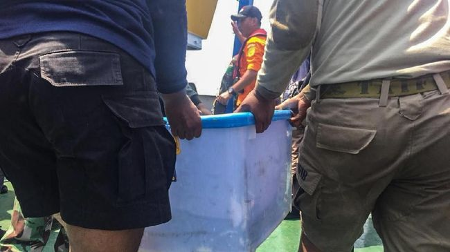 Tim penyelam TNI AL dikabarkan sudah menemukan benda yang diduga kuat sebagai black box Lion JT-610 di perairan Karawang dan sudah diamankan ke kapal.