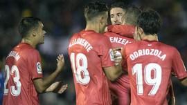 FOTO: Di Bawah Arahan Solari, Real Madrid Menang atas Melilla