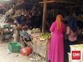 Dua Positif Corona Sumsel Diduga Sempat ke Pasar Naik Ojol