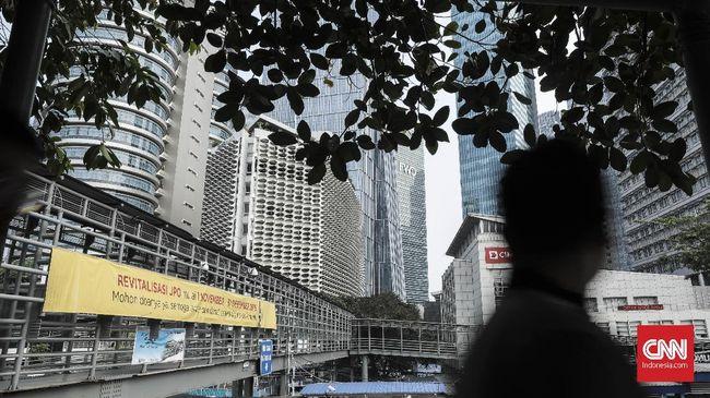 Target penyelesaian revitalisasi JPO di kawasan Sudirman meleset dari target yang telah ditetapkan pada 31 Desember 2018 lalu.