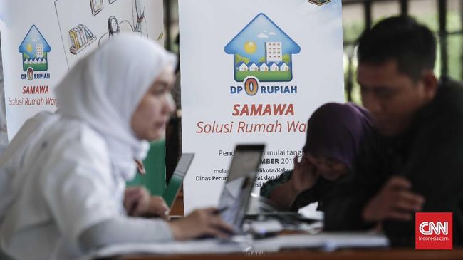 Pemprov DKI mengimbau warga Jakarta yang ingin mengikuti program Rumah DP 0 Rupiah agar berhati-hati dengan pinjaman online atau fasilitas kredit lain.