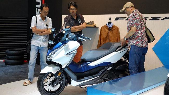 Honda Banting Harga Skutik 250 Cc Forza Diskon Rp11 Juta