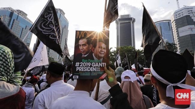 Aksi Bela Tauhid kembali digelar di Jakarta sebagai reaksi atas pembakaran bendera di Garut beberapa waktu lalu.