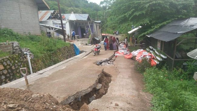 LIPI menyebutkan fenomena tanah bergerak yang terjadi di Purwerejo, Jawa Tengah pada Rabu (14/1) lalu bukan disebabkan likuifaksi.