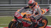 Diganggu Hujan, Marc Marquez Rebut Pole Motogp Malaysia