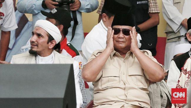 Prabowo menganggap perjuangan menyejahterakan kaum disabilitas sesuai amanat kemerdekaan yang dituangkan dalam pembukan UUD 1945.