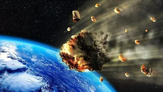 Asteroid Raksasa Pernah Hantam Bumi-Bulan 800 Juta Tahun Lalu