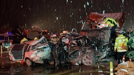 Truk Tabrak 31 Mobil di China, 15 Orang Tewas