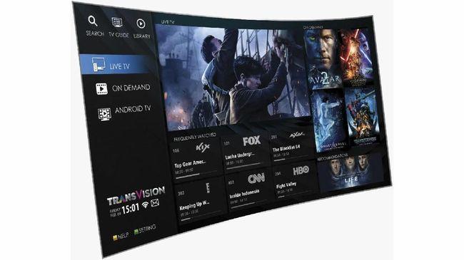Transvision Internet TV.