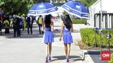 Gadis payung turut memeriahkan gelaran MotoGP Malaysia 2018. Berikut foto-foto gadis payung yang terlibat dalam gelaran MotoGP Malaysia 2018.