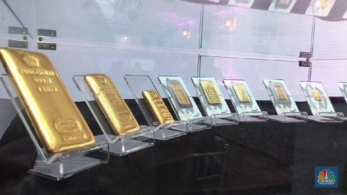 Investor Ambil Untung, Harga Emas Sedikit Melemah - PT Rifan Financindo