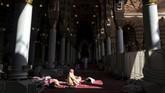 Makam Nabi Muhammad SAW berada di komplek Masjid Nabawi, Madinah, Arab Saudi.