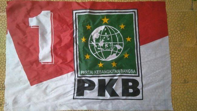 PKB memiliki bendera baru yang tampak seperti logo PKB lama yang ditempelkan di atas bendera merah putih dan diberi nomor urut parpol peserta Pileg 2019.