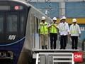 Jokowi Jajal Perdana MRT Bundaran HI-Lebak Bulus