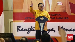 OSO Kukuhkan Pengurus DPP Partai Hanura