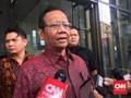 Mahfud MD Singgung 'Buku Merah' saat Bertemu Pimpinan KPK