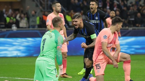 Inter Milan 1-1 Barcelona