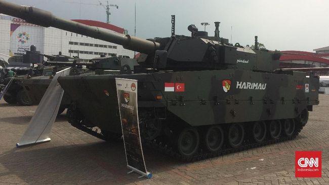 Berkat keberadaan Tank Harimau yang berkarakter medium, Menhan menilai TNI tak perlu lagi membeli tank yang berat seperti Leopard dari Jerman.
