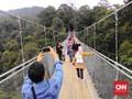 Berkah Jembatan Gantung Situ Gunung Lewat Jalur Virtual