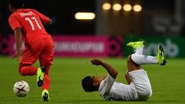 Indonesia Tertinggal 0-1 dari Malaysia di Babak Pertama