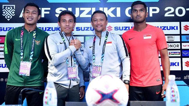 Jelang Piala AFF 2018, pelatih Singapura Fandi Ahmad mengungkapkan kenangan saat membuat diam 100 ribu suporter Timnas Indonesia di SUGBK.