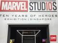 Datang ke Sepuluh Tahun Marvel di Singapura