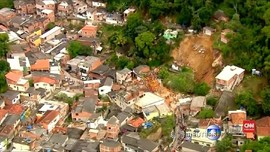 VIDEO: Longsor Akibat Hujan Deras Tewaskan 10 Warga di Brazil